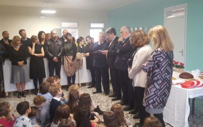 Inaugurazione della prima classe montessoriana