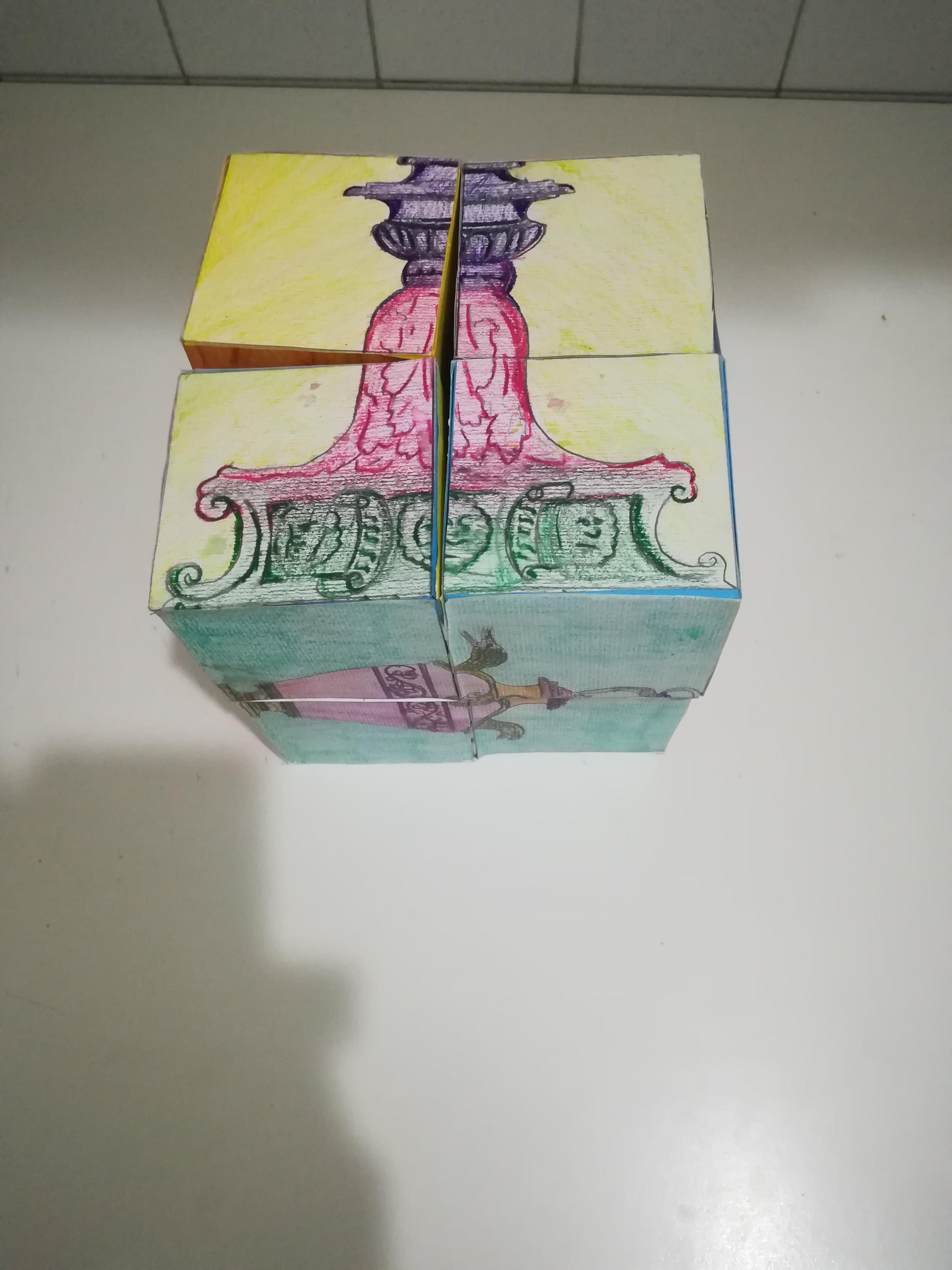 Il Cubo magico di Giulio Romano