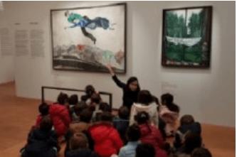 In visita alla mostra di Marc Chagall