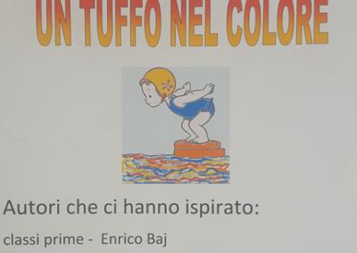 Un tuffo nel colore – bimbi artisti alla Martiri di Belfiore