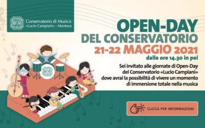 """Open day del conservatorio """"Lucio Campiani"""""""