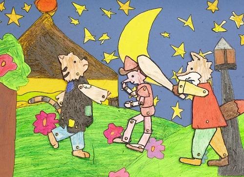 Pinocchio animato